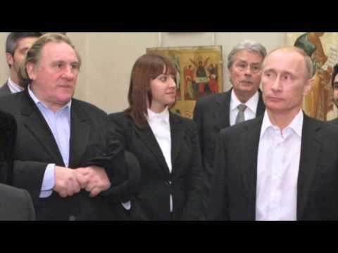 Putin Grants Depardieu Russian Citizenship