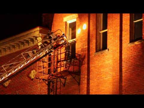 Fire in Nelsonville Square - YouTube
