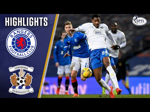 Rangers Kilmarnock Goals And Highlights