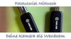 Benutze Deine Foto-Kamera als Webcam (am Beispiel der Olympus OM-D)