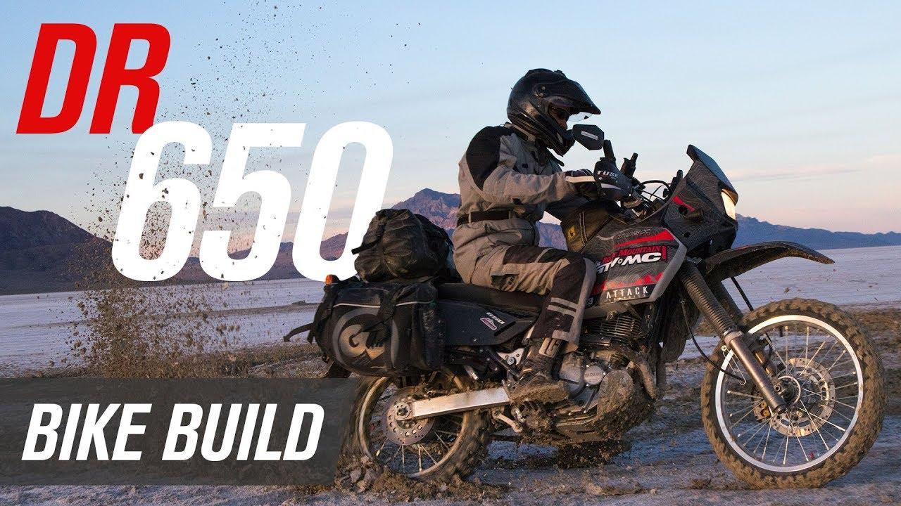 Suzuki DR650 Bike Build: Making a Great Off-Road ADV