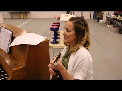 """Happy"" - Benny & Joon in rehearsal at The Old Globe"