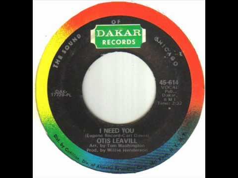 Otis Leavill - I Need You.wmv