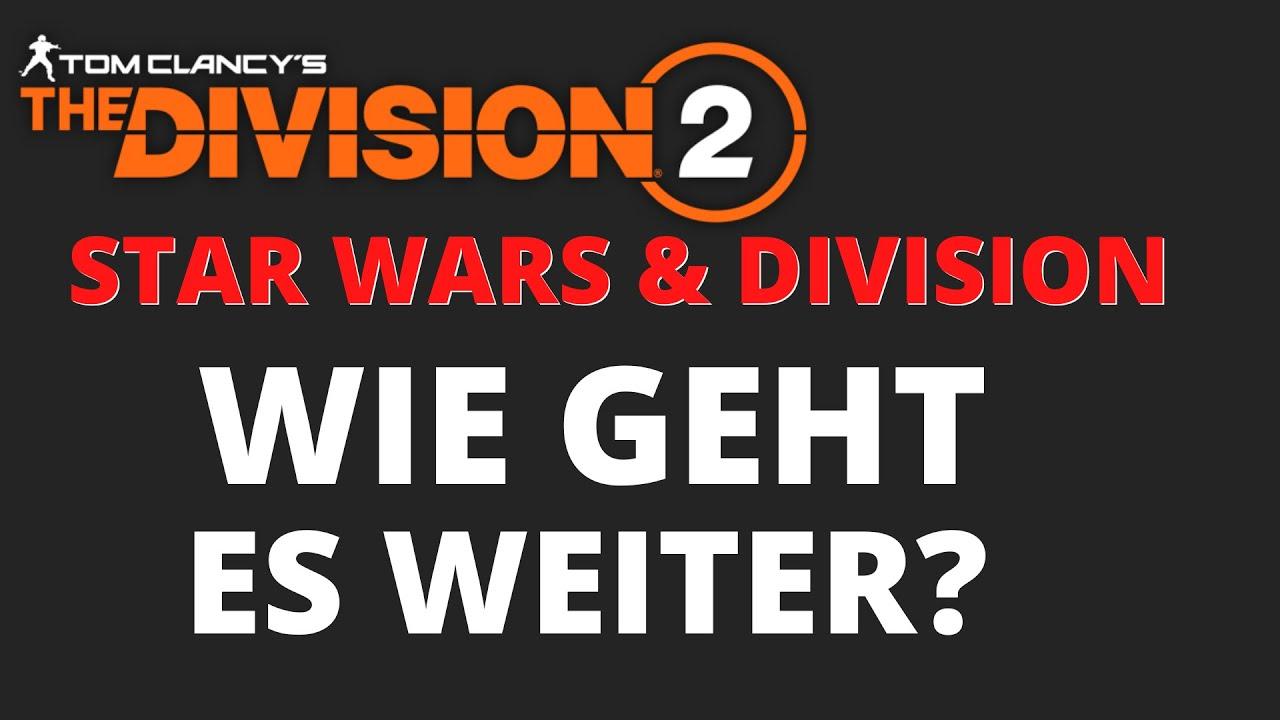Das Ende von The Division 2 und The Division 3 - Massive Entertainment arbeitet an Star Wars