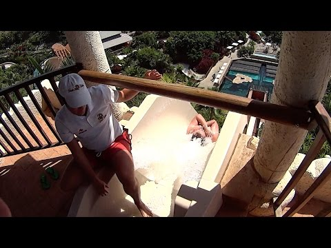 Giant Tower Water Slide at Siam Park
