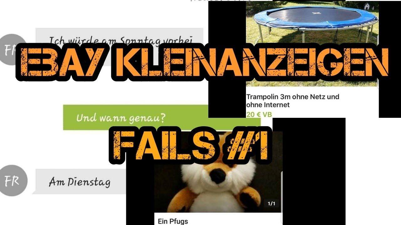 Ebay Kleinanzeigen Fails Teil 1 1 Domcrafter Youtube