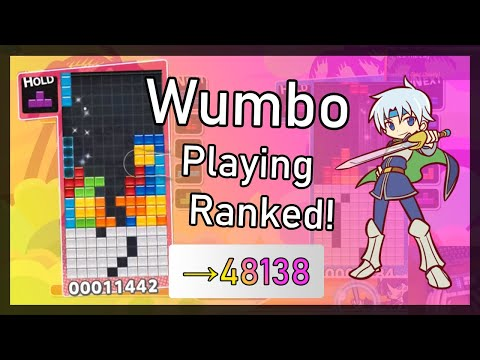 Puyo Puyo Tetris – Wumbo Ranked! 47864➜48138 (Switch)