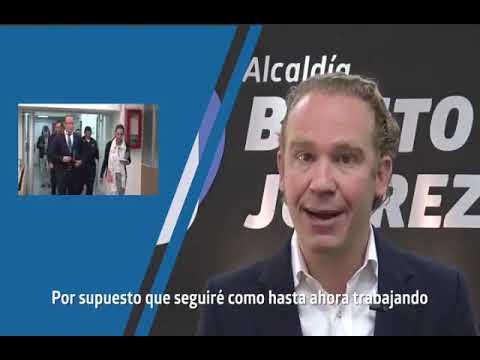 MENSAJE DEL MTRO. SANTIAGO TABOADA CORTINA, ALCALDE DE BENITO JUAREZ ANTE LA FASE II POR COVID19