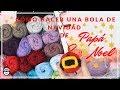 BOLA DE NAVIDAD: CÓMO HACER A PAPÁ NOEL