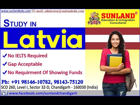 Latvia study visa