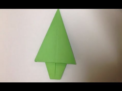 Faire un sapin en origami d coration de no l youtube - Pliage serviette pour noel facile ...