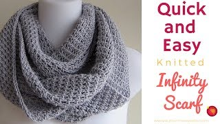 Repeat youtube video Project   Infinity Scarf