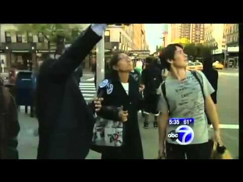 UFO Sighting in Chelsea New York On Oct 13, 2010, News Report.