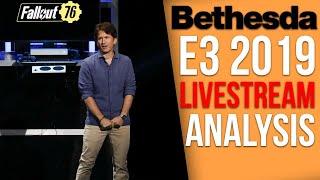 Bethesda E3 2019 Presentation - Breakdown and Analysis