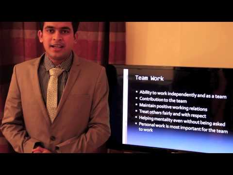 Video Presentation on Competencies on Airline Industry