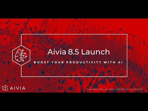 Aivia 8.5 - [Launch Webinar] Deep Learning Microscopy Image Deconvolution