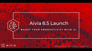 Increase your productivity with AI - Aivia 8.5