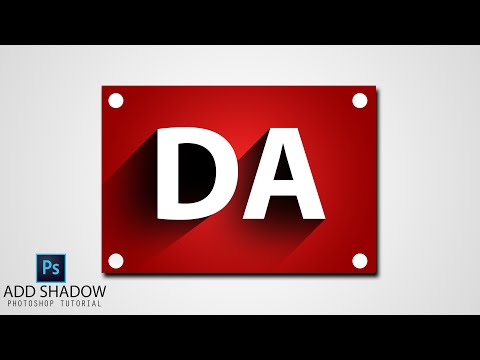ADD AWESOME SHADOW/ 3D SHADOW IN ADOBE PHOTOSHOP - PHOTOSHOP TUTORIAL