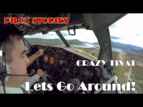 Pilot Stories: Go Around In Stormy Tivat