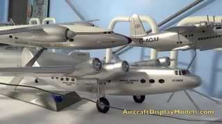 Video 8) Anthony Lawler airline display model collection Imperial Airways Ensign and Avro Tudor