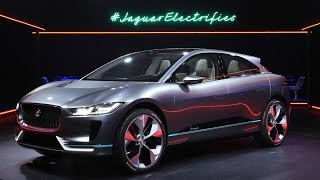 Jaguar Just Unveiled the I-Pace Electric SUV