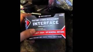 How to install car stereo on a Chevy Cobalt part1