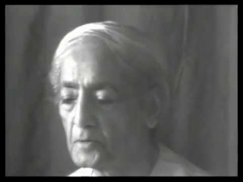 J. Krishnamurti - Rishi Valley 1978 - School Discussion (Students) 2 - Do You See...