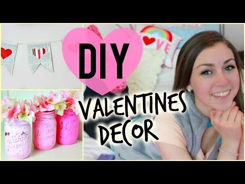 DIY Valentine's Day Room Decorations!