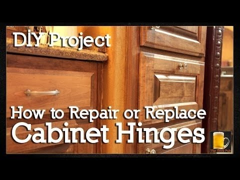 How To Repair Or Replace Cabinet Hinges European You