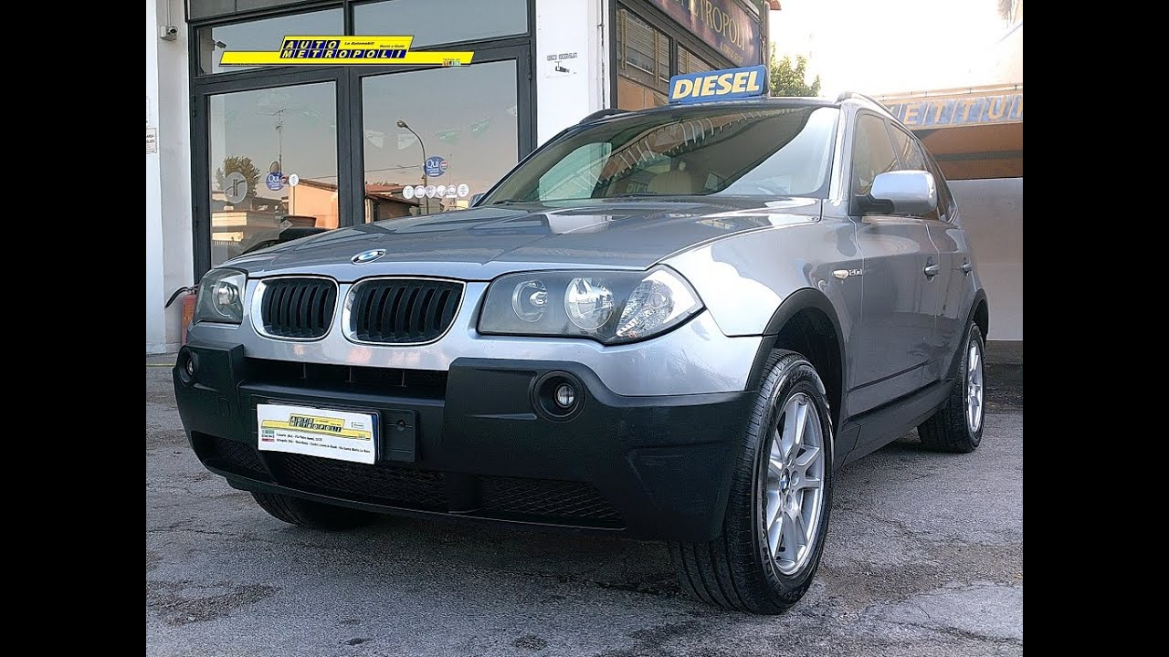Bmw X3 2.0D 150cv Eletta - Autometropoli.it - YouTube