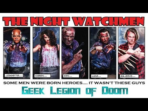 THE NIGHT WATCHMEN ( 2016 James Remar ) Vampire Horror Comedy Movie Review