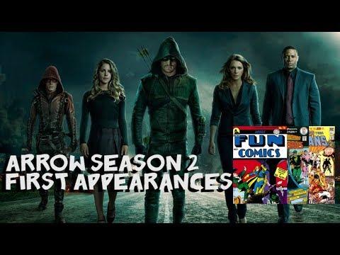 FWF First Appearances: Arrow Season 2