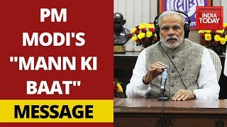 "PM Modi Addresses Coronavirus Crisis In India In His ""Mann Ki Baat"" 