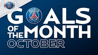 GOALS OF THE MONTH - OCTOBER with Neymar Jr, Mbappé, Abalo & Katoto