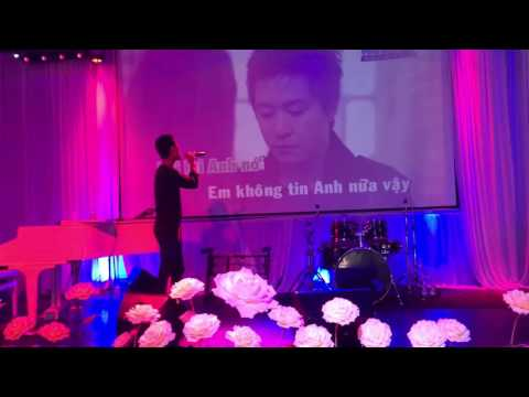 Karaoke at  Moonlight  restaurant and banquet in Westminster USA