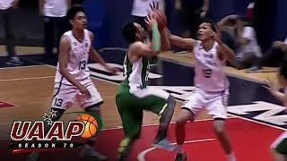 UAAP 78 Juniors' Basketball: NU vs DLSZ Game 3 Finals Highlights