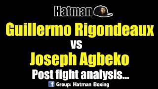 Guillermo Rigondeaux vs Joseph Agbeko POST FIGHT
