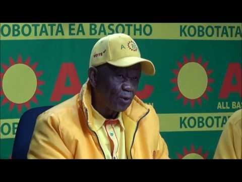 Dr Motsoahae Thabane ABC Leader TV Lesotho 20 April 2017 (Full Video) - Lesotho Politics