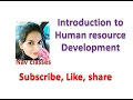 Introduction to Human resource Development, Relation in HRM & HRD in Hindi and English