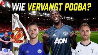 Wie Vervangt Onprofessionele Pogba bij United? Eriksen, Maddison Of...?