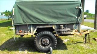 M101 A1 trailer rebuild PT.1