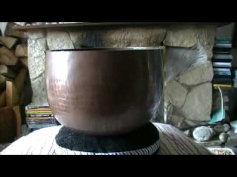 Comparing Singing Bowl Shapes and Sounds Pt 1