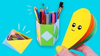 EASY PAPER CRAFTS 📜😀✂ | DIY in  Funny Stories