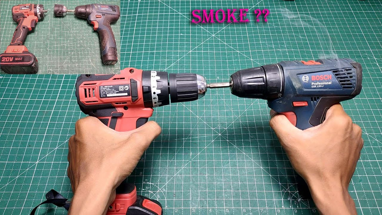 Testing The Best Cordless Drill