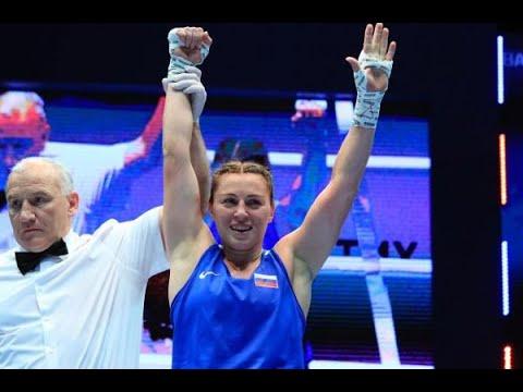 Саадат Далгатова (Россия) VS Оши Джонс (США) Чемпионат мира по боксу среди женщин 2019.