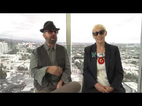 Eurythmics Message To Fans - Rock & Roll Hall Of Fame (2017)