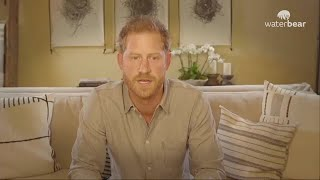 video: The Americanisation of 'raindrop' Prince Harry is complete
