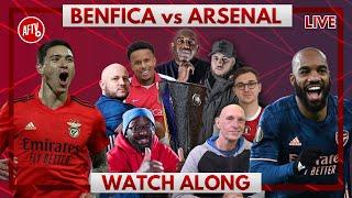 Benfica vs Arsenal | Watch Along Live