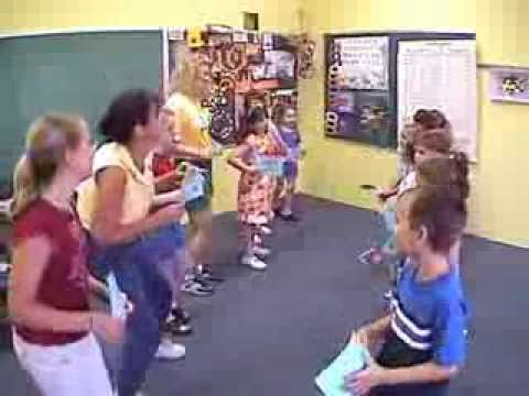 Rhyming Square Dance from Jazz Up Your Language Arts by Music with Mar.