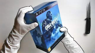 CALL OF DUTY GHOSTS HARDENED EDITION! Unboxing COD Limited Collector